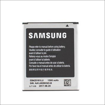 Genuine EB425161LU Replacement Battery for Samsung Galaxy ace 2 i8160 Trend Duos s7562 s3 mini akku freeshipping+track no