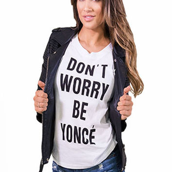 Be Yoncé Muscle Tee
