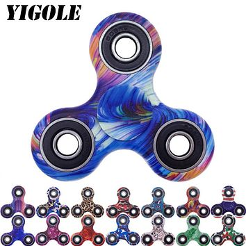 YIGOLE New Style Tri-Spinner Fidget Toy EDC HandSpinner Anti Stress Reliever And ADAD Hand Spinners