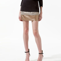 COMBINED PANELLED SKIRT - Skirts - Woman - ZARA United States