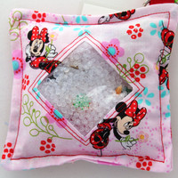 I Spy Bag with detachable item list - Minnie Mouse