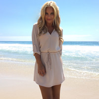 Well Rounded Tunic & Dress In Cream