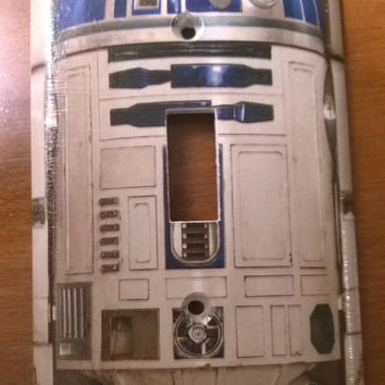 Star Wars R2-D2 light switch cover