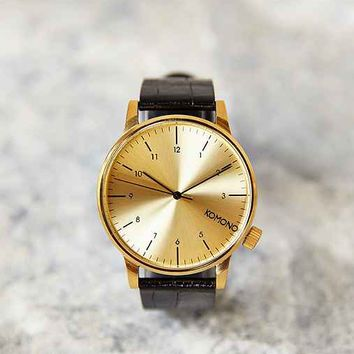 KOMONO Winston Monte Carlo Watch- Gold One