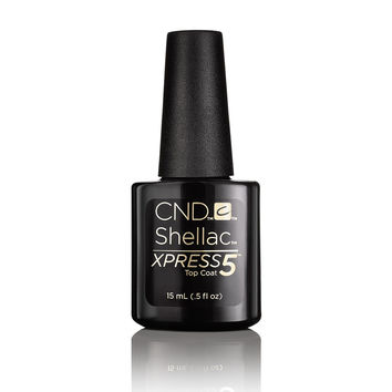 CND Shellac - XPress5 Top Coat 0.50 oz