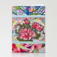 Spring Medley Stationery Cards by Macsnapshot