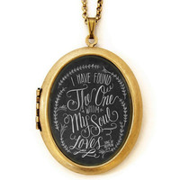 Song of Solomon - Locket
