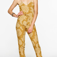 west coast jumpsuit gold dahlia