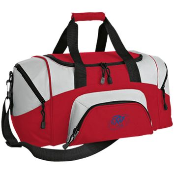 Ocean Blue OBX Lyfe Port & Co. Small Colorblock Sport Duffel Bag in 7 Colors