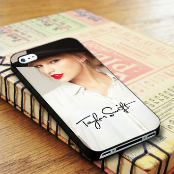 Taylor Swift Red Signature Badboy Style Singer iPhone 4 | iPhone 4S Case