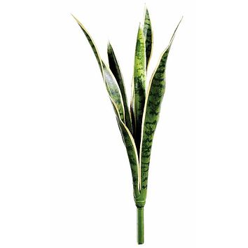 """Artificial Snake Plant - 24"""" Tall"""