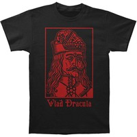 Vlad The Impaler Men's  Vlad Dracula Slim Fit T-shirt Black