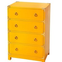Ardennes Yellow Campaign Accent Chest