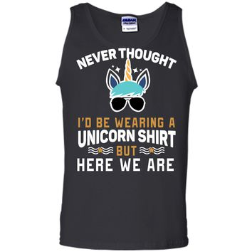 Funny Unicorn T-Shirt For Papa Dad Grandpa Big Brother Men Tank Top