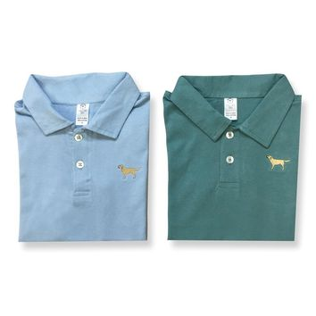 Golden Retriever Polo Tee