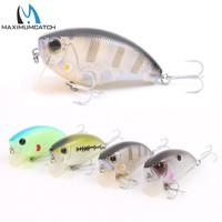 Maximumcatch 1Pcs New Crank Fishing Lures Artificial Bait With VMC Hooks Life-like Hard Fishing Lures Crankbait