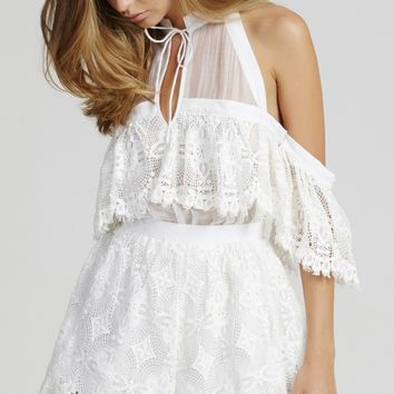 Better Be Good To Me Playsuit Seashell - alice McCALL