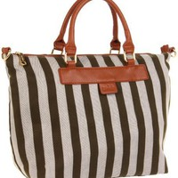 Co-Lab by Christopher Kon Reese Small Stripe-1103 Tote - designer shoes, handbags, jewelry, watches, and fashion accessories   endless.com