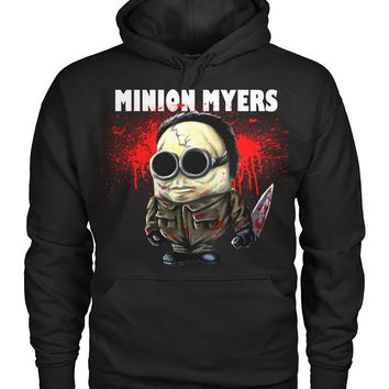 Minion Myers Pullover Hoodie 8 Oz