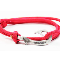 Red Fish Hook Bracelet (New)