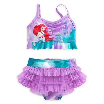 Licensed cool THE LITTLE MERMAID PRINCESS ARIEL SWIMSUIT GIRLS 2PC DISNEY STORE SZ 3-9/10 NEW