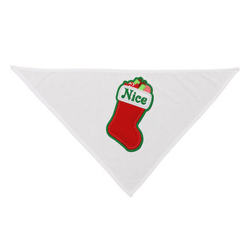 Nice Stocking Cute Christmas Dog Bandana 26