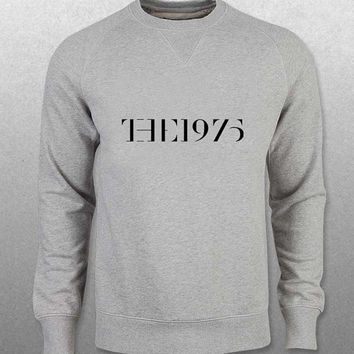 the 1975 sweater Gray Sweatshirt Crewneck Men or Women Unisex Size with variant colour