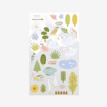 For your heart paper adhesive sticker - Lake