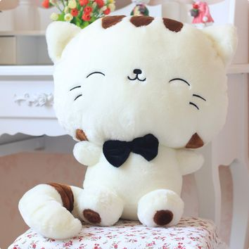 Cute Cratoon Plush Toys Big Face Cat Doll Rice Balls Cat Lovely Gift