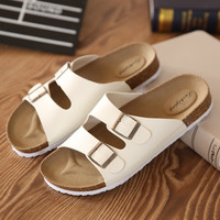 Lovers Casual Sandals Fashion cork slippers Summer  Woman beach slippers flip slip-resistant trend of Sandals Female
