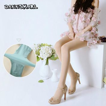 New Fashion Spring Autumn Women Tights Stockings Dumb Light Color Velvet Silk Stockings 120D T Crotch Woman Pantyhose
