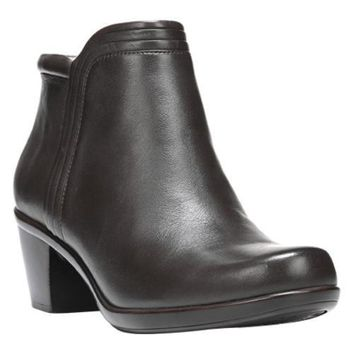 Women's Naturalizer Elisabeth Bootie Oxford brown Leather | Overstock.com Shopping - The Best Deals on Boots
