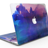 Dark Absorbed Watercolor Texture - MacBook Air Skin Kit