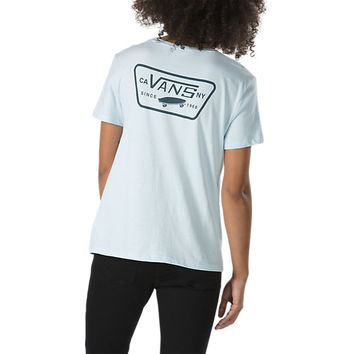 Full Patch Crew T-Shirt | Shop Womens Tees At Vans