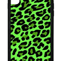 Neon Leopard iPhone Xs Max Case