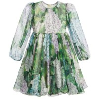 Girls Silk 'Ortensia' Dress
