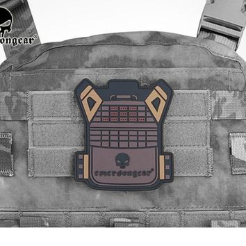 EmersonGear PVC JPC Vest Patch Tactical Military Airsoft Equipment Wargame EM5528 Pink Olive Wolf  Gray Brown