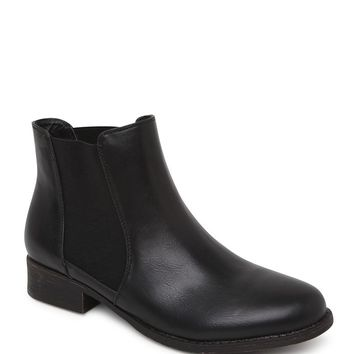 Black Poppy Chelsea Basic Boots - Womens Boots