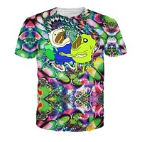 Adventure Time on Acid T-Shirt