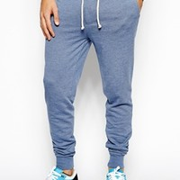 ASOS Skinny Sweatpants With Zip Fly And Button Detail