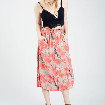FOR LOVE AND LEMONS | Mai Tai Maxi Skirt