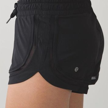 """lululemon"" Fashion Print Exercise Fitness Gym Yoga Runnin Shorts"