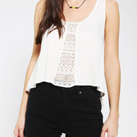 Urban Outfitters - bluejuice  Pompom Cropped Tank Top