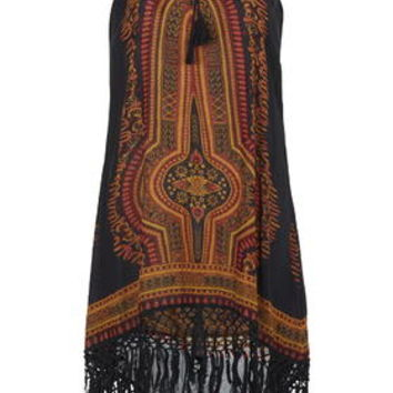 Dashiki Dress By Band Of Gypsies - Black