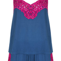 Floral Lace Cami and Short PJs - New In This Week - New In - Topshop USA