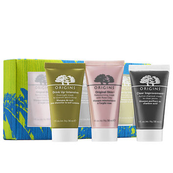 Purify, Hydrate & Glow Mask Set - Origins | Sephora