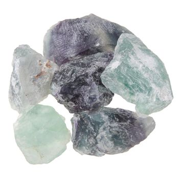 100g 2-4cm Natural Rare Fluorite Crystal Small Natural Stones Rock Gemstone Specimen Home Decor