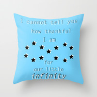 The Fault in Our Stars #8 Throw Pillow by Anthony Londer | Society6