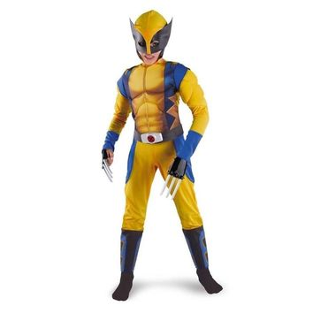 Boys X-man Logan Origins Marvel Superhero Halloween Costumes Kids Play
