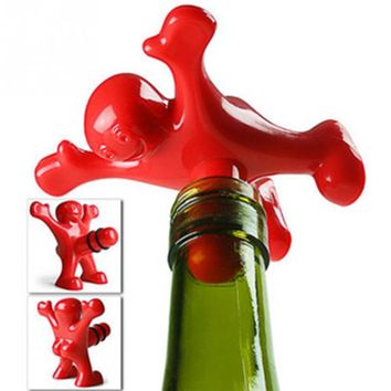 Novelty Bar Wine Cork Bottle Plug